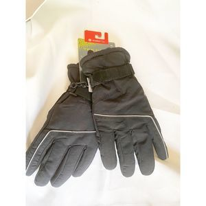 Warm tek boys ski gloves  black gloves